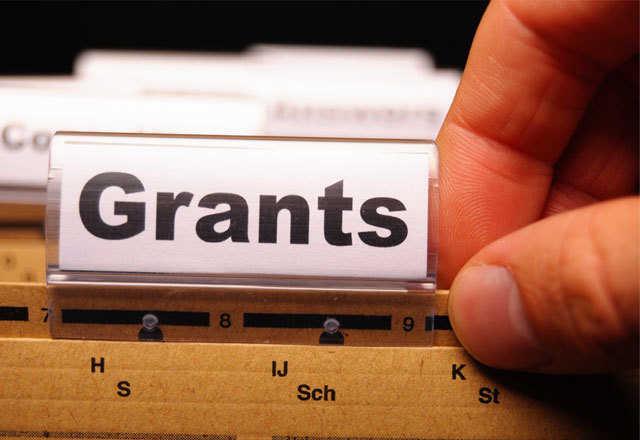Grants file tab